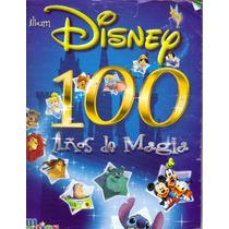 Album Disney 100 Años De Magia. Imagics. Semicompleto
