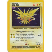 Pokemon Zapdos 15/62 Holo Rare
