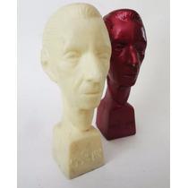 Agustín Lara. Antiguos Bustos De Plástico. Muy Raros
