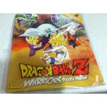 Album Dragon Ball Z Warriors Con 132 Estampas