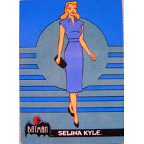 Cat Woman / Dc Comics / Batman Animated Cards 14