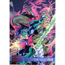 Green Lantern Green Globin / Dc Vs Marvel Comics Cards 74