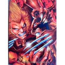 Wolverine Enemigos Mortales / Marvel Comics Pepsi Cards 37