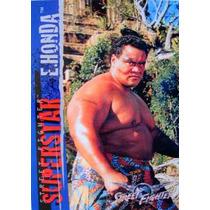 E Honda / Street Fighter Movie / Anime / Tarjetas Y Cards