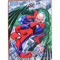 Spider Man Vs Buitre / Marvel Comics Pepsi Cards 8 / Tarjeta