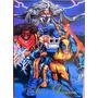 X Men Azul Y Dorado / Marvel Comics Pepsi Cards 57 / Tarjeta