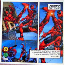Dare Devil / Marvel Comics / Cards Y Mega Tarjetas Showdown