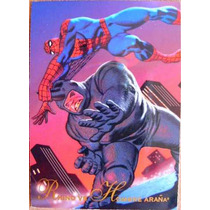 Spider Man Rhino / Marvel Comics Pepsi Cards 17 / Tarjetas
