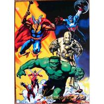 Avengers / Marvel Comics Pepsi Cards 11 / Tarjetas