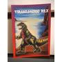 Tarjeta Tiranosaurio Rex Monstruos Del Bolsillo Vintage