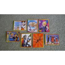 Dragon Ball Z 5 Estampas De Album Lote De 7 Estampas