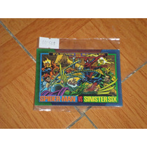 Tarjeta Sky Box Marvel 1993 Famous Battles # 155