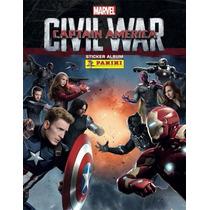 Estampas Sueltas Album Capitan America: Civil War Panini