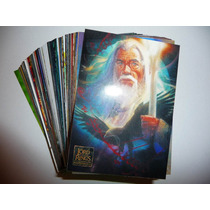 The Lord Of The Rings Masterpieces 1 Y 2 Lote 75 Cartas