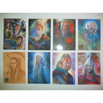 The Lord Of The Rings Masterpieces 2 Set Completo 72 Cartas