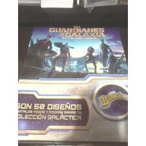 Guardianes De La Galaxia Bubbaloo Album Y 100 Stickers