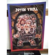 Tarjeta Jotun Troll Monstruos Del Bolsillo Vintage