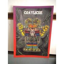 Tarjeta Coatlicue Monstruos Del Bolsillo Vintage