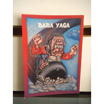 Tarjeta Baba Yaga Monstruos Del Bolsillo Vintage