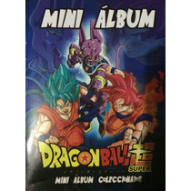 Mini Album De Estampas Dragon Ball Super