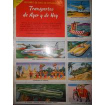 Album Un Libro De Oro De Estampas ( Transportes De Ayer Y...