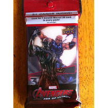 Tarjetas Avengers Age Of Ultron Blade 3 D Upper Deck
