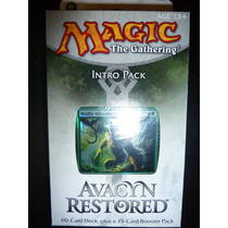 Magic Gathering Bound By Strenght Intro Pack Avacyn Restored