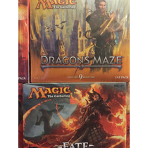 Fat Pack, Magic The Gathering, Mtg, De Dragón Maze Y M13