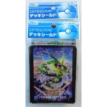 Pokemon: Micas Y Deck Box Japonesas Diseño De Mega Rayquaza