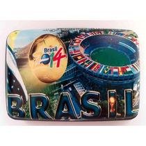Cartera Aluminio Security Wallet Aluma Mundial Brasil 2014