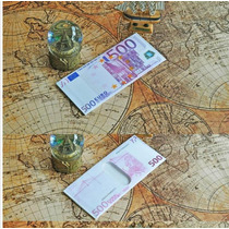 Cartera En Forma De Billetes Del Mundo