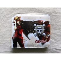 Cartera De One Piece Impresion Monky D Luffy A Todo Color