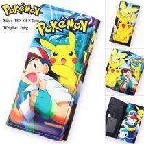 Cartera Anime Pokemon Ash Pikachu