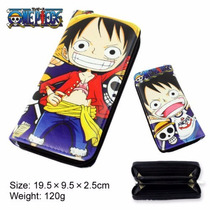 Cartera Con Cierre Anime One Piece Monkey D Luffy