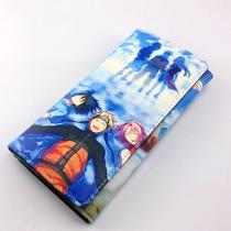 Cartera Impresa Anime Naruto Sakura Sasuke