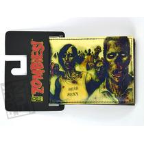 Zombies Cartera Bi-fold Importada 100% Original
