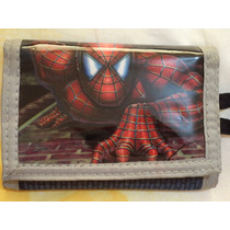 Cartera Spiderman 100% Original Edicion Especial Limitada