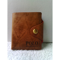 Cartera Cafe Polo Ralph Lauren Nueva