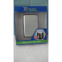 Cartera De Seguridad Aluminio Xgear Color Gris