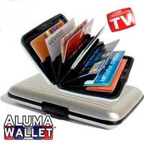 Cartera Aluma Wallet Aluminio Unisex, Como Lo Viste En Tv!
