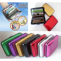 Lote 10 Aluminum Wallet Alluma Indestructible