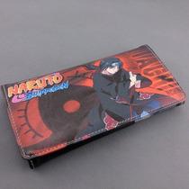 Cartera Impresa Anime Naruto Kakashi Itachi Uchiha
