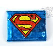 Superman Cartera Fat Free Importada 100% Original