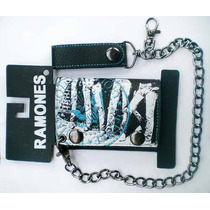 The Ramones Cartera Cadena Importada 100% Original