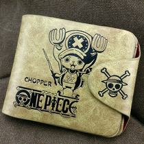 Cartera Color Khaki Anime One Piece Tony Tony Chopper