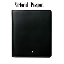 Cartera Montblanc Piel Porta Pasaporte