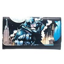 Cartera Bioworld Batman & Batgirl Comic Para Mujer