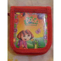 Cartera Billetera Dora La Exploradora 100% Original Roja