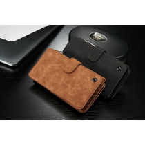 Elegante Cartera 2en1 Piel Iphone 6s Plus Celular Billetera