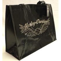 Bolsa Re-utilizable Harley-davidson® Plastica Negra Basica